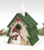 Mary Maxim Tree Tissue Box Cover Plastic Canvas Kit