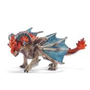 Dragon Battering Ram Schleich 70511 New Red Blue Knight World Novelty
