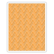 Sizzix Texture Fades A2 Embossing Folder-zig Zag By Tim Holtz