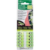 Wonder Clips Neon Green 10/pkg 051221731808