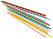 Fuseworks 30ml Variety Colour Stringers 90 Coe Fusible Glass, 30ml,assorted