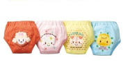 Taiycyxgan 4 X Baby Toddler Girls Cute 4 Layers Waterproof Potty Training