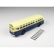 Classic Metal Works 32307 Ho Mini Metals Gmc Td 3610 Transit Bus - Blue With Cre