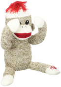 Baby Starters Peekaboo Sock Monkey Toy Brown Stuffed Animals & Plush Toy
