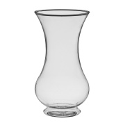 Syndicate Sales 25cm Pedestal Vase Clear, New