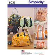 Simplicity Backpack, Totes And Cosmetic Bag One Size 039363580379