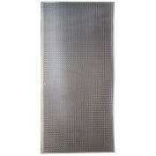M-d Hobby & Craft 57323 Perforated Aluminium Sheets, 2.5cm X 5.1cm , Lincane, New, Fr