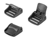 10 - 2.5cm Ykk Cam Lock Lever Plastic Buckles