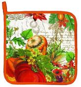 Michel Design Kitchen Cooking Baking Oven Potholder – Fall Autumn Harvest Aph236