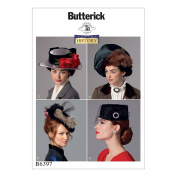 Butterick Patterns Misses Hats, Multi-Colour