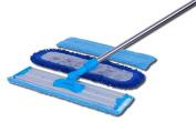 46cm Professional Microfiber Mop   Stainless Steel Handle   Premium Mop Pads +