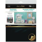 Deco Foil Peel N Stick Toner Sheets 20cm x 25cm 2/pkg-