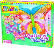 The Orb Factory Sticky Mosaics Butterfly Beauties Craft Kit