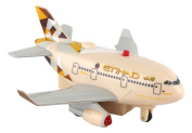 Daron Worldwide Trading Etihad Airways Pullback Plane With Lights & Sound