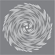 Andy Skinner Mixed Media Stencil 8inx8intornado