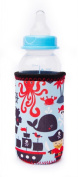 Kidzikoo - #1 Neoprene Baby Bottle/sippy Cup Insulator Cooler Coozie - Pirates,