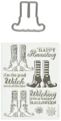 Hero Arts Stamp & Cuts-witch Feet