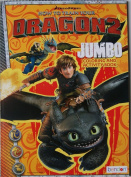 How To Train Your Dragon 2 Jumbo Colouring And Activity Book