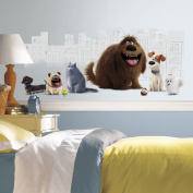 'secret Life Of Pets' Peel And Stick Giant Wall Graphic