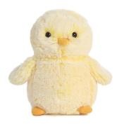 1 X Pompom Yellow Chick 15cm By Aurora
