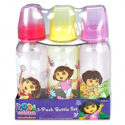 Nickelodeon Dora The Explorer Baby Bottles, 270ml, New,  .