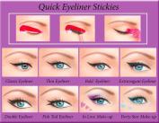 ORIGINAL Quick Eyeliner Stickies Complete Set 80 pcs
