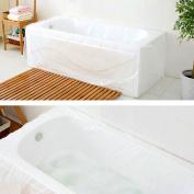 Tfy Ultra Large Disposable Film Bathtub Bag For Salon, Household And Hotel Bath