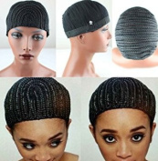 Eseewigs Black Braids Cap for Easier Sew Hair Weft Designed for Those Who Suffered From Hair Loss Braided Wig Cap S