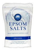 TWO PACKS of Elysium Spa Epsom Salts Original 450g