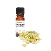 Frankincense Pure Essential Oil in a 10ml Amber Glass Dropper Bottle ; Rejuvenating, stress releasing, relaxing, calming, anti-wrinkle