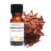 Sandalwood Amyris Essential Oil. In a 10ml Amber Glass Dropper Bottle. Soothing, Relaxing and Sensual