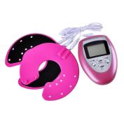 Scenstar Portable Breast Enhancer Vibrating Massager Kit Electrical Pulse Digital Enhancing Massage Breast Growth Machine For Home Use