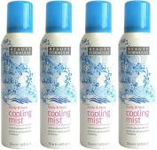 4x Beauty Formulas - Body & Face Cooling Mist - 150ml or 5 fl oz.