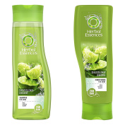 Herbal Essences Dazzling Shine Set Shampoo & Conditioner with Citrus Scent. Bundle with Exclusive Beauty tips.