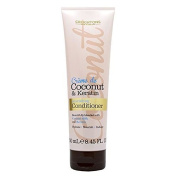 THREE PACKS of Creightons Creme de Coconut & Keratin Nourishing Conditioner 250ml