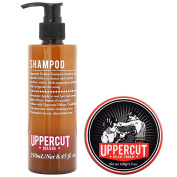Uppercut Deluxe Shampoo and Deluxe Pomade Duo Kit