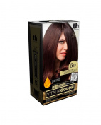 Vitalia Colour Dye For Hair without Ammonia n.5 – 57 Light Brown Mahogany Purple.