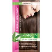 Marion Hair Colour Shampoo in Sachet Lasting 4-8 Washes - 58 - Medium Brown