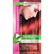 Marion Hair Colour Shampoo in Sachet Lasting 4-8 Washes - 65 - Red Wine