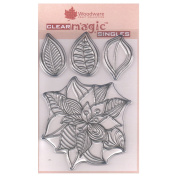 Woodware A6 Clear Cling Stamps - JGS511 Bold Blooms - Mildred