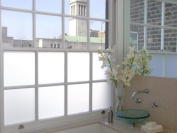 White Privacy Frosted Glass Film/Window Film 2m x 1m