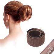 CareforYou Fashion Hair Styling Disc Hair Donut Former Foam French Twist Magic DIY Tool Bun Make