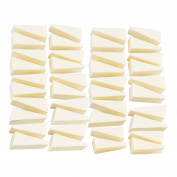 Aboat 40 Pieces Make Up Wedges Cosmetic Wedges Nail Art Sponges Triangle Shape Foundation Beauty Tool