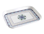 Elegant Rectangle Portable Trays Coffee and Dinner Trays Fruit Trays