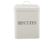 Creative Tops Stir It Up White Biscuits Storage Tin