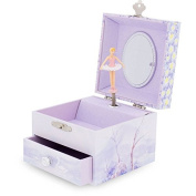 Ulysses 9526 Square Swan Lake Music Box