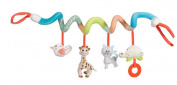 ODN Baby Crib Bed Stroller Playing Hanging Rattle Toy Car Hanging Pushchair Pram Toys with Animal Style