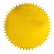Foil Seal for Certificates, Diplomas, Notary, etc., 5.1cm Diameter, 72 Self-Adhesive Seals per Package