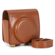 CAIUL Vintage Comprehensive Protection Case with Soft Leica Strap for Leica Sofort Instant Film Camera