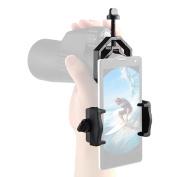 Eyeskey Universal Cell Phone Adapter Mount - Compatible with Binoculars Monocular Spotting Scope Telescope 106g